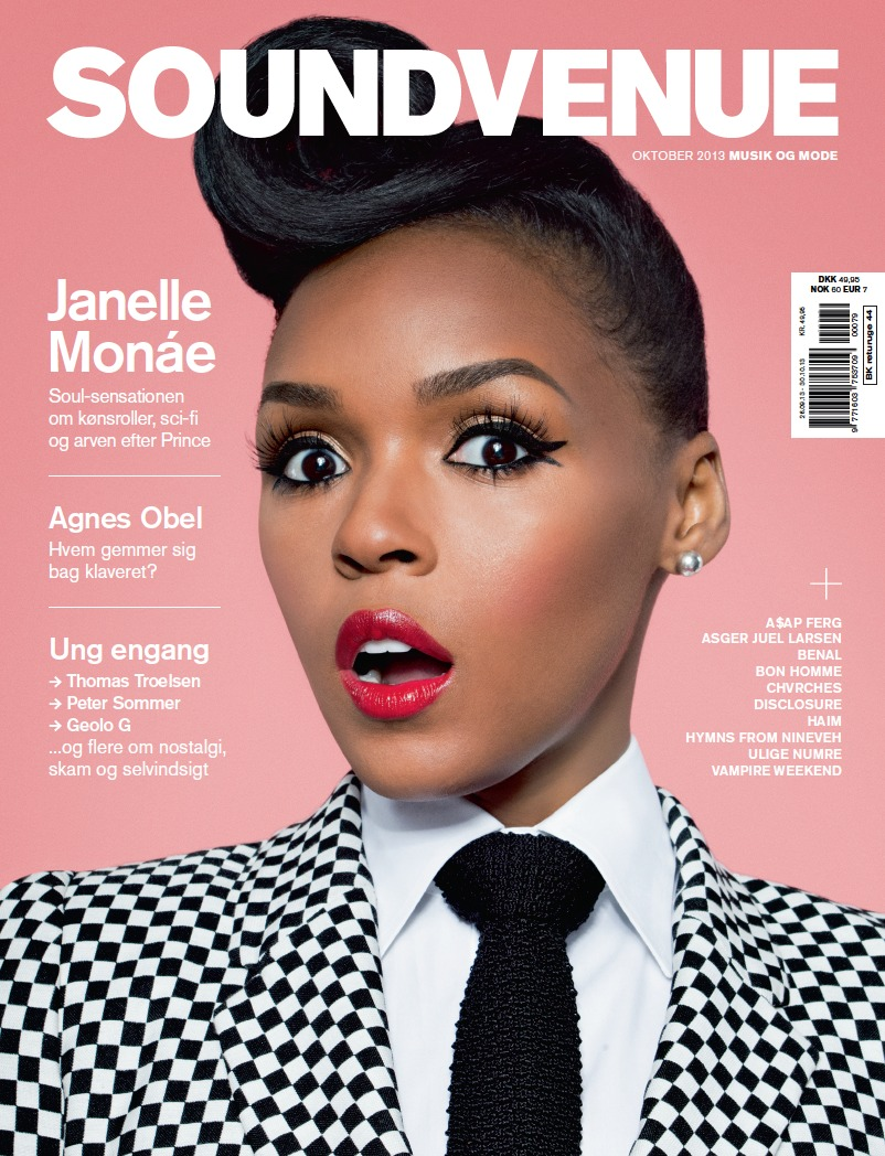 Soundvenue Cover Janelle Monae
